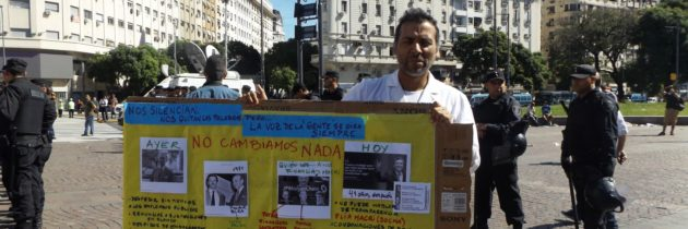Gremios argentinos realizan paro general