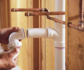 shower water supply line repairs