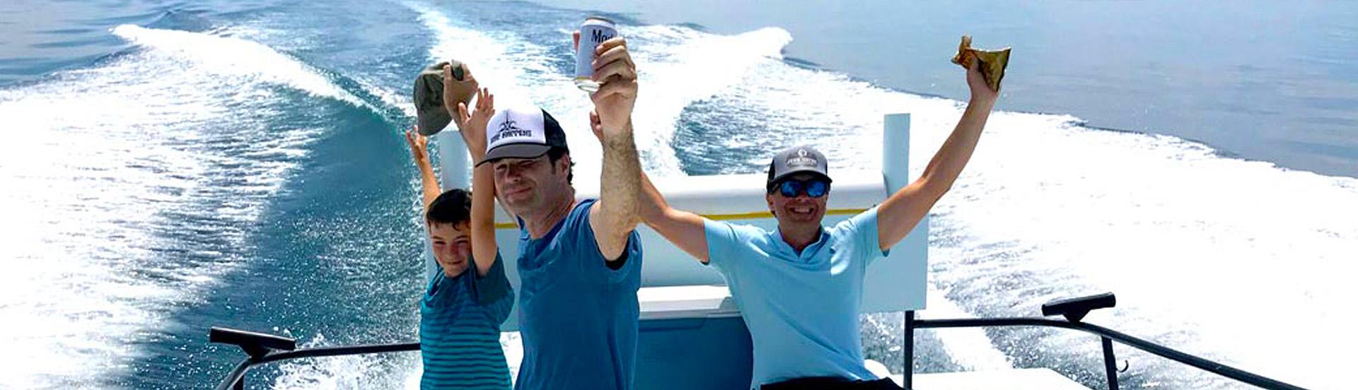 how to book a charter fishing trip in Santa Barbara