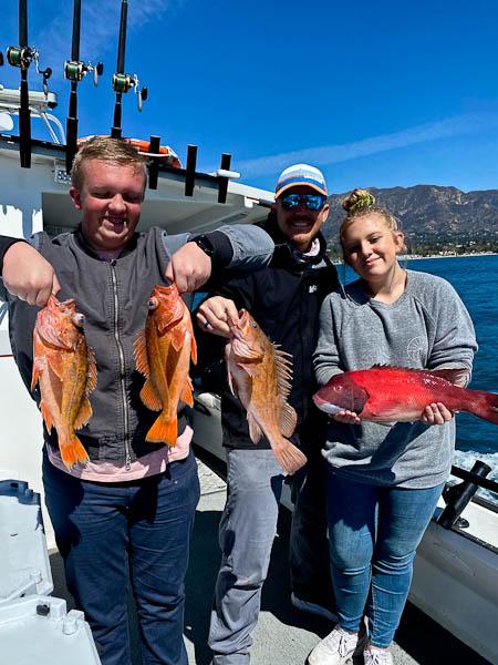 amazing fishing santa barbara