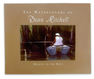 The Watercolor of Dean Mitchell Book
