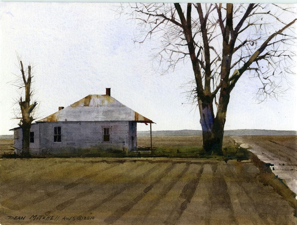 Dean Mitchell, Mississippi Farm House
