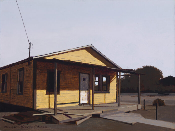 "Maricopa County House, acrylic, 13"" x 15"""