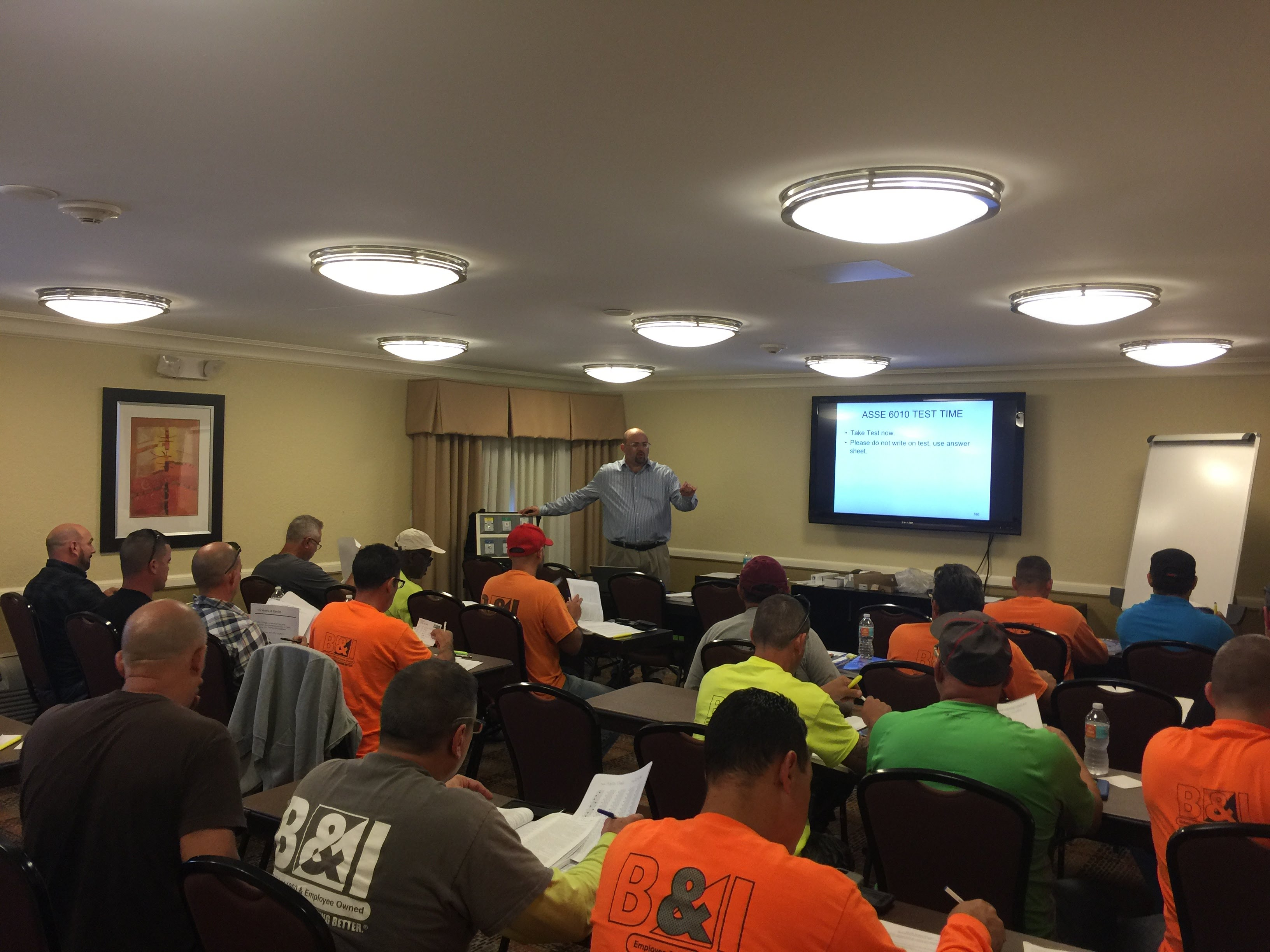 Instruction and seminars for Maintenance personnel, Installers, Architects and Specifiers, Inspectors, and Designers
