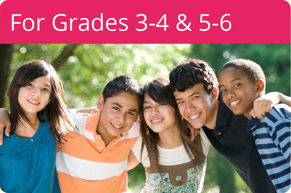 For Grades 3, 4, 5 & 6