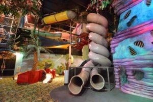 Double Helix Slide at Makutu's Island