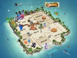 Makutu's Island map