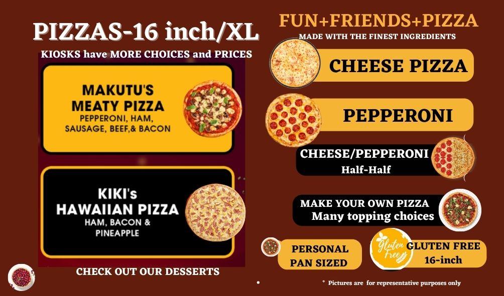 2 - Pizza TV Menu