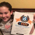 Ava Rare Champion Hawk Award