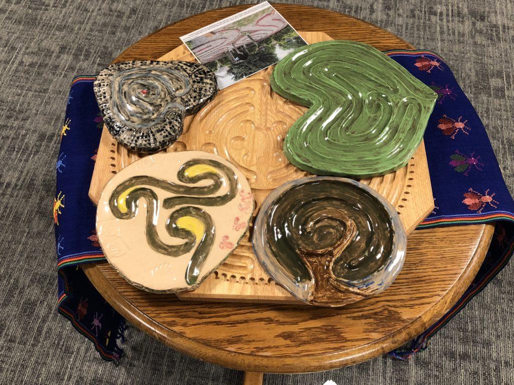 Clay labyrinths