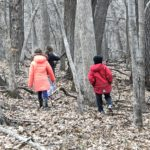 Kids in the woods