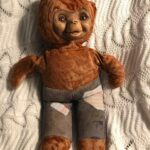 Ancient Smokey Bear doll.