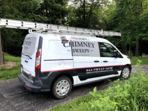 Midtown Chimney Sweeps Truck