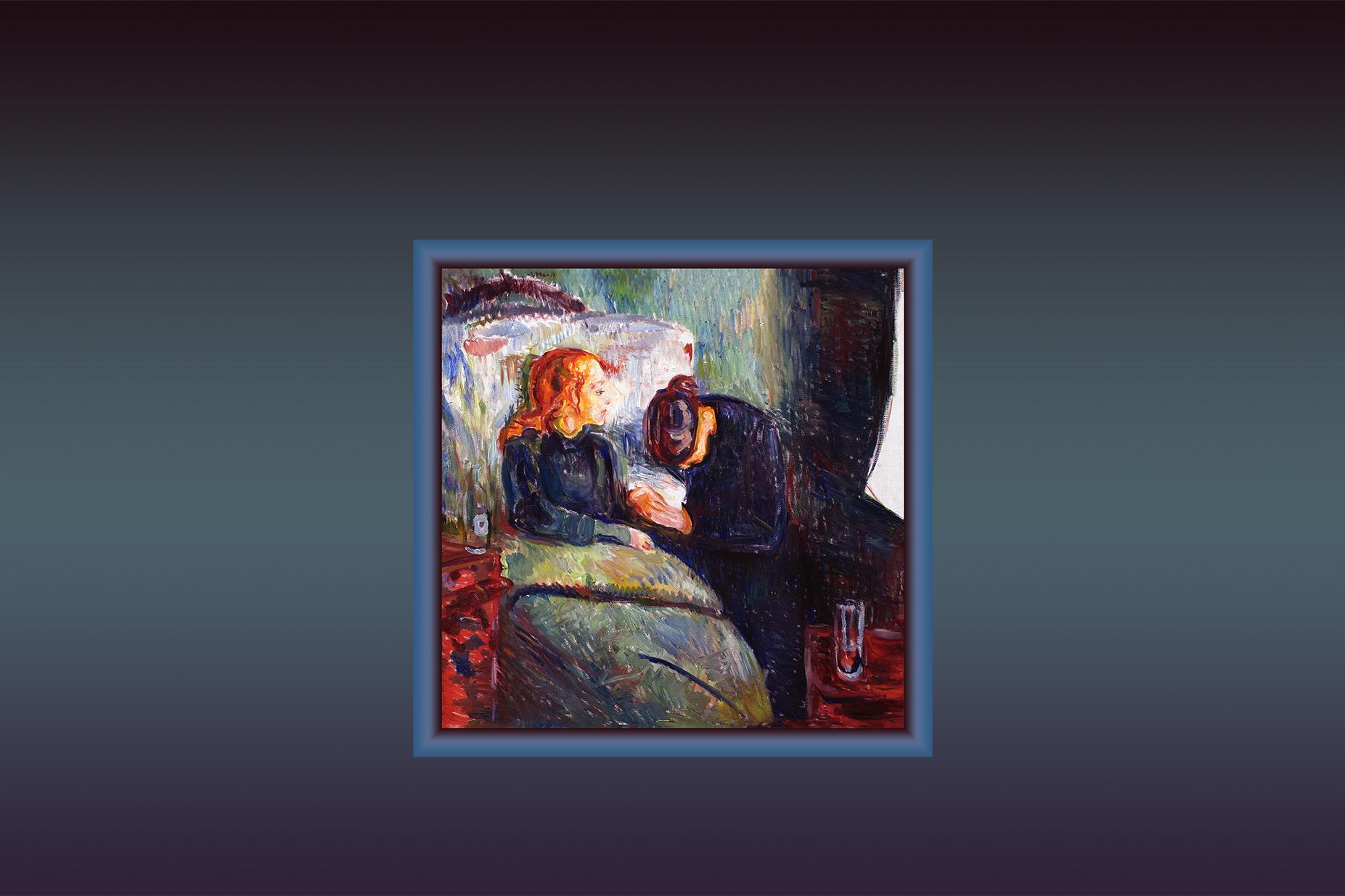 Pediatric Ethicscope cover 32(2) The Sick Child, Munch