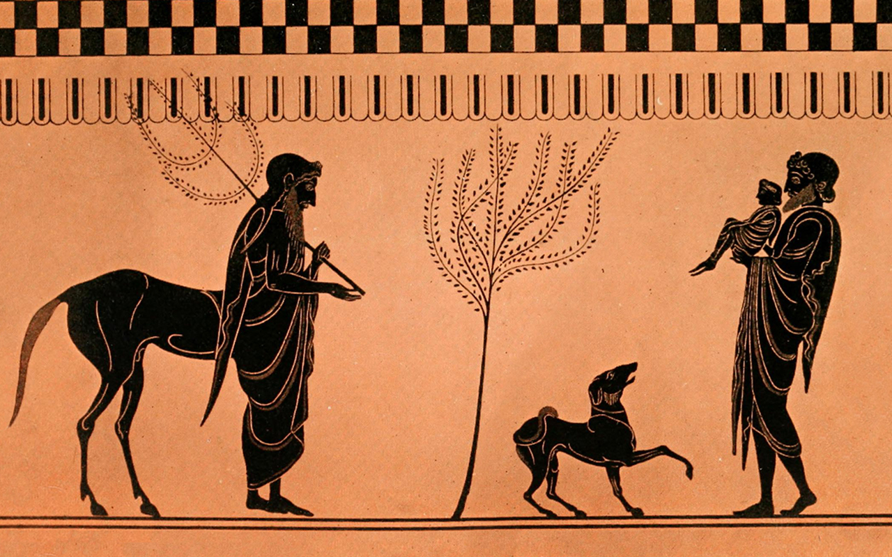 Pediatric Ethicscope: Tomas Jose Silber, Leikin Lecture on Suffering main image: Chiron, Peleus, and Infant Achilles