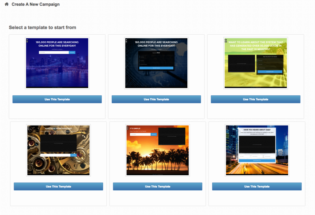 Beacon funnel System Landing Page Builder