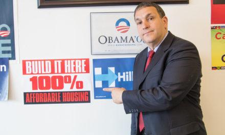HIRAM STRONG POLITICAL COMEBACK FOR NYC COUNCIL