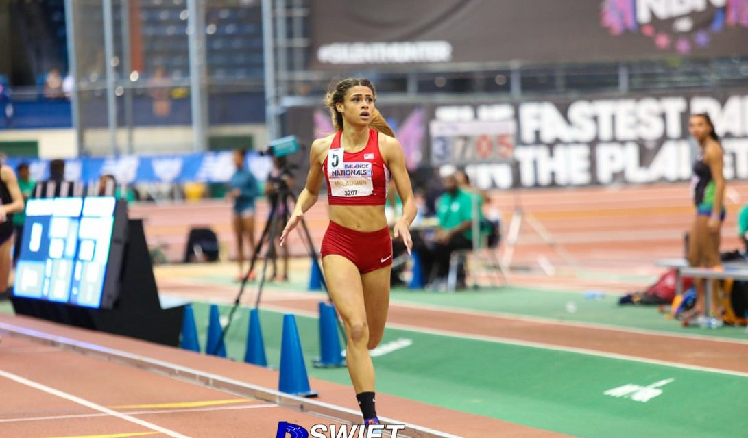 Sydney McLaughlin Running at Top of Her Game.