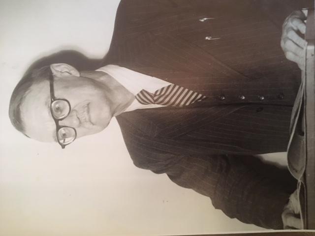 Pictured Dr. Nicholas Timasheff cira 1950 Photo Credit: the Timasheff Family