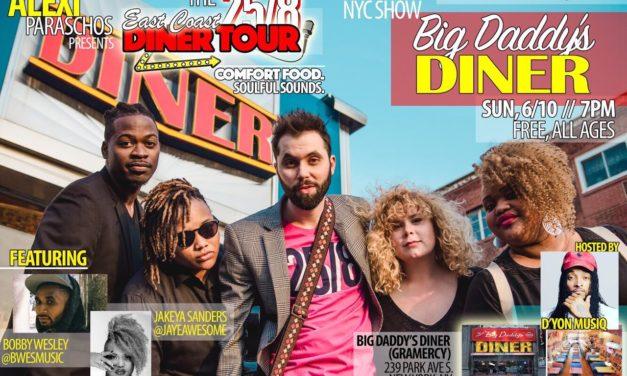 Alexi Paraschos East Coast Diner Tour
