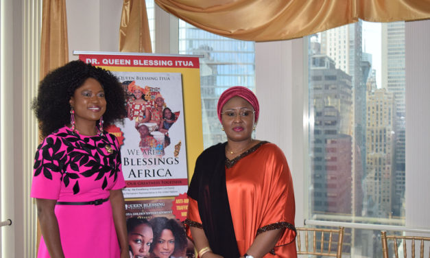 Nigerian First Lady bestowed with Distinguished Global Award in New York City