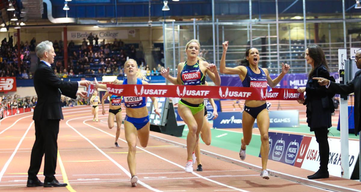 Emma Coburn, Aisha Praught-Leer Return for Super Race II in NYRR Millrose Women's 3,000m
