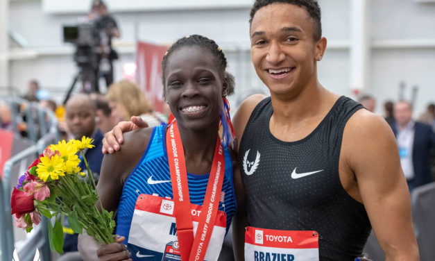 Young American middle distance talent set records, world leads on final day of Toyota USATF Indoor Championships