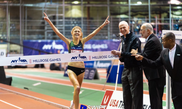 On Record Setting Day, Yomif Kejelcha Just Misses WR Mark En Route to Wanamaker Mile Victory in 112th NYRR Millrose Games