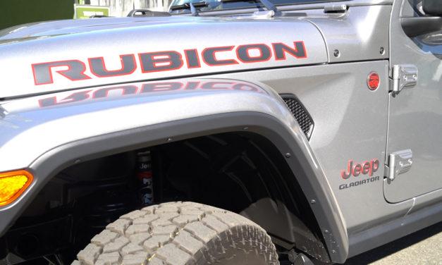 2020 Jeep Gladiator at the New York International Auto Show 2019