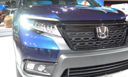2019 Honda Passport at the New York International Auto Show 2019
