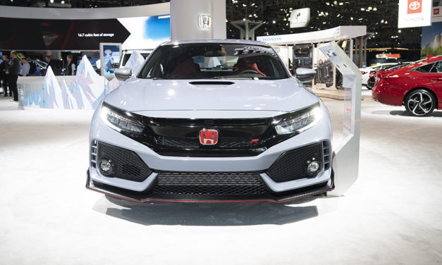 2019 Honda Civic Type R at the New York International Auto Show 2019