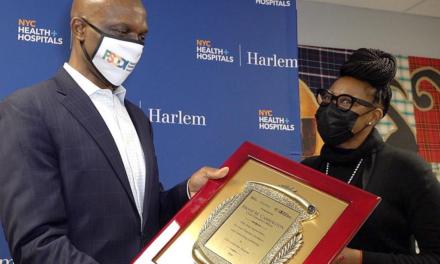 Foundation Celebrate Workers at Harlem Hospital