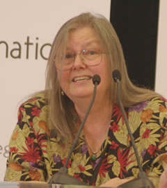 Dorothy Allison, past faculty for Macondo Writers Workshop