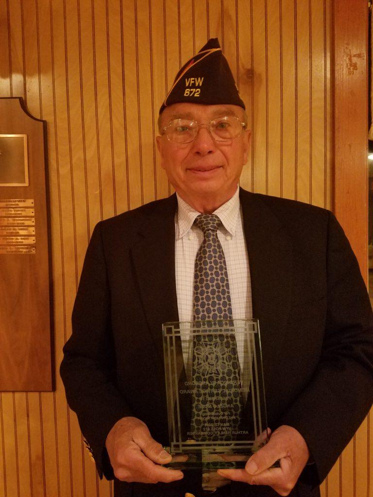Angelo Mule gets Veronica Blanford Award 2016