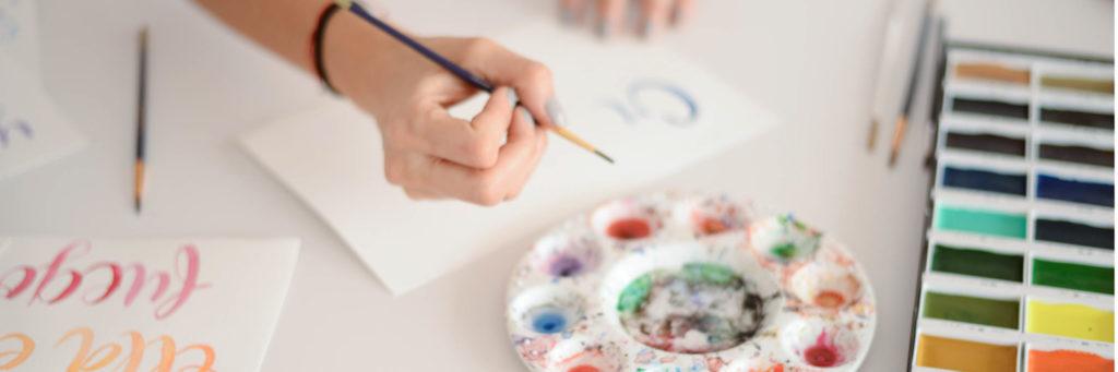 Aprender a pintar con acuarela