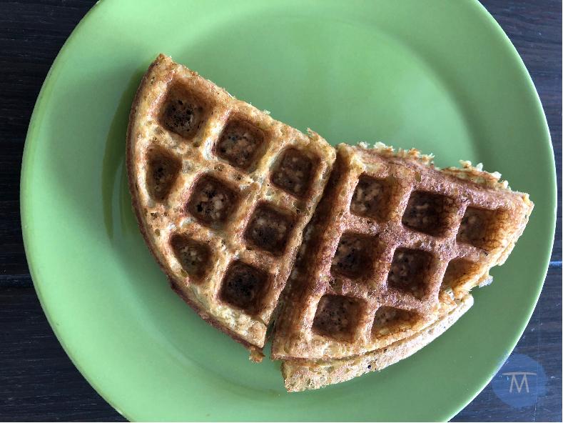 Receta de waffles para el desayuno