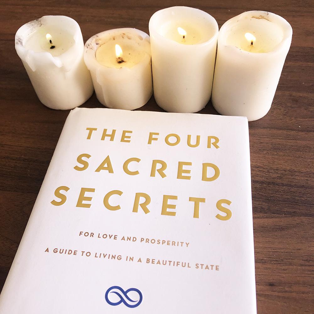 Libro los cuatro secretos sagrados