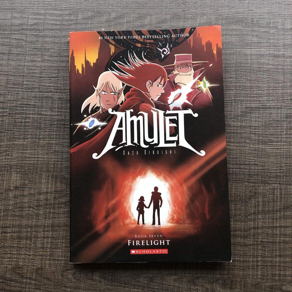 Libros recomedados para niños de 8 y 9 años: Amulet