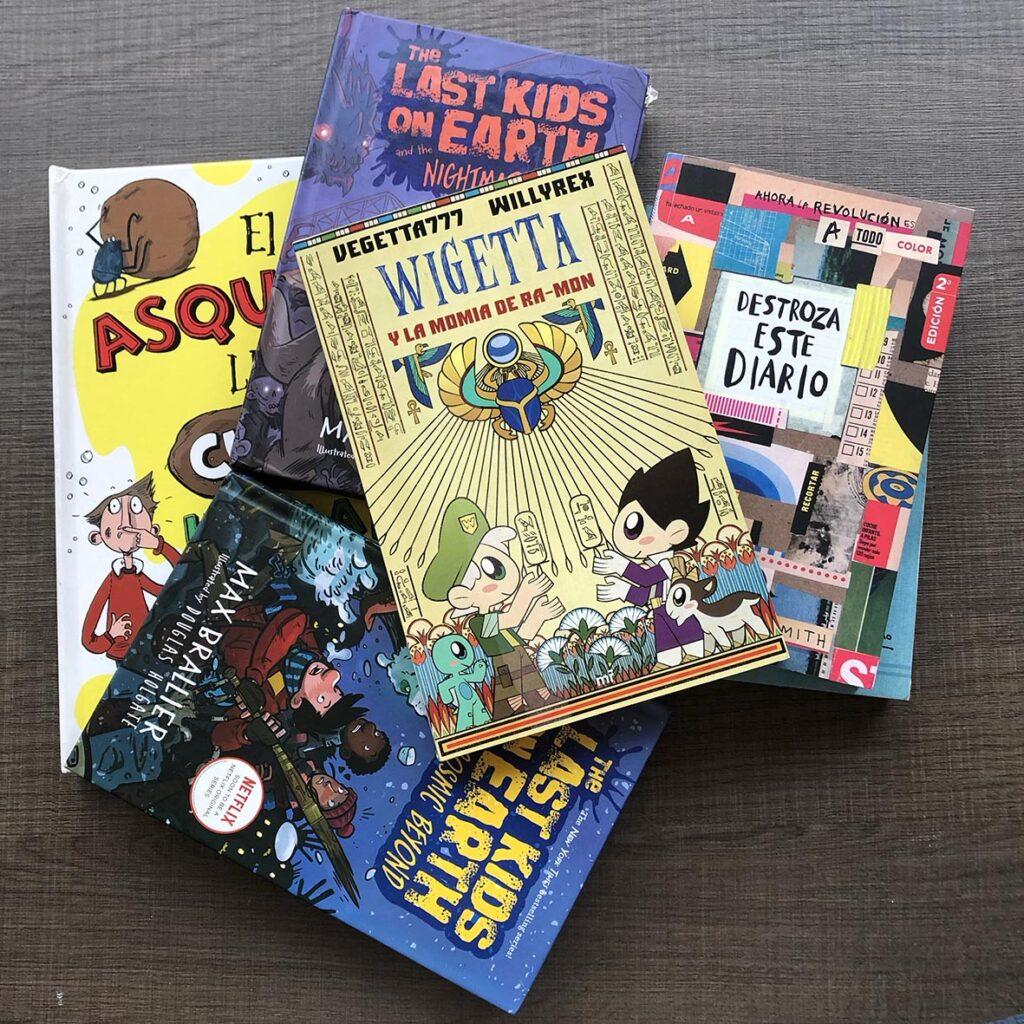 Libros recomendados para niños de 8 y 9 años