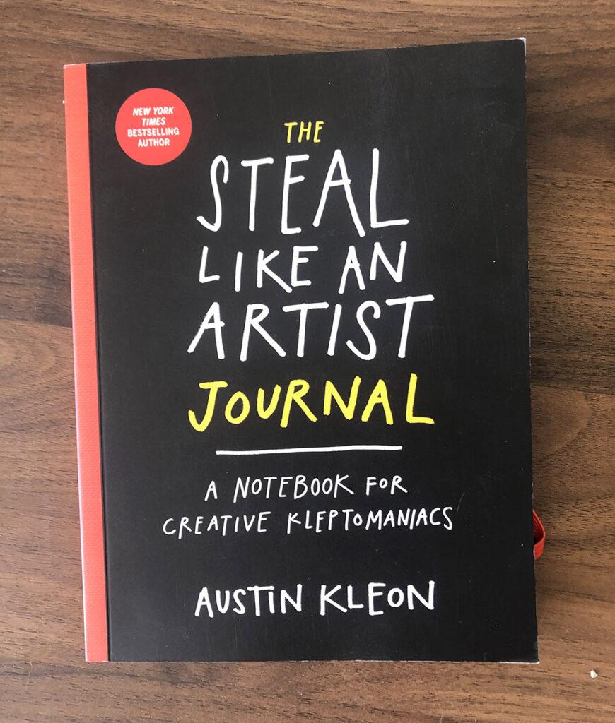 Journal para la creatividad de Austin Kleon