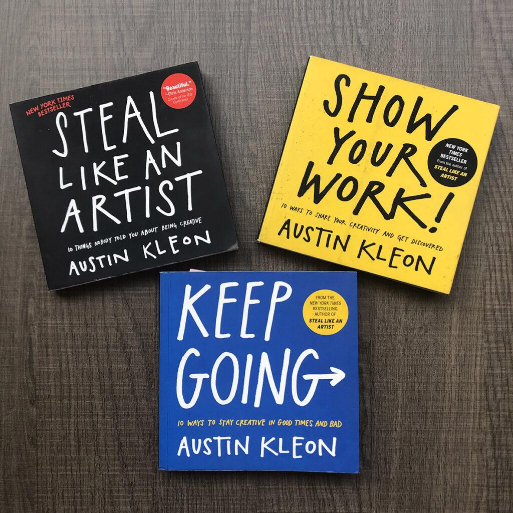Austin Kleon Tres libros para la creatividad