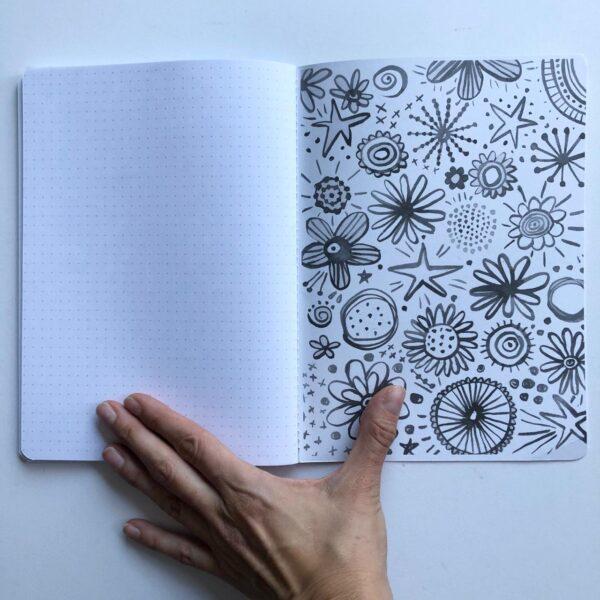 Cuaderno interior Mesa en Blanco0