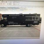 Color Change white to black Truck Studio on Wheels