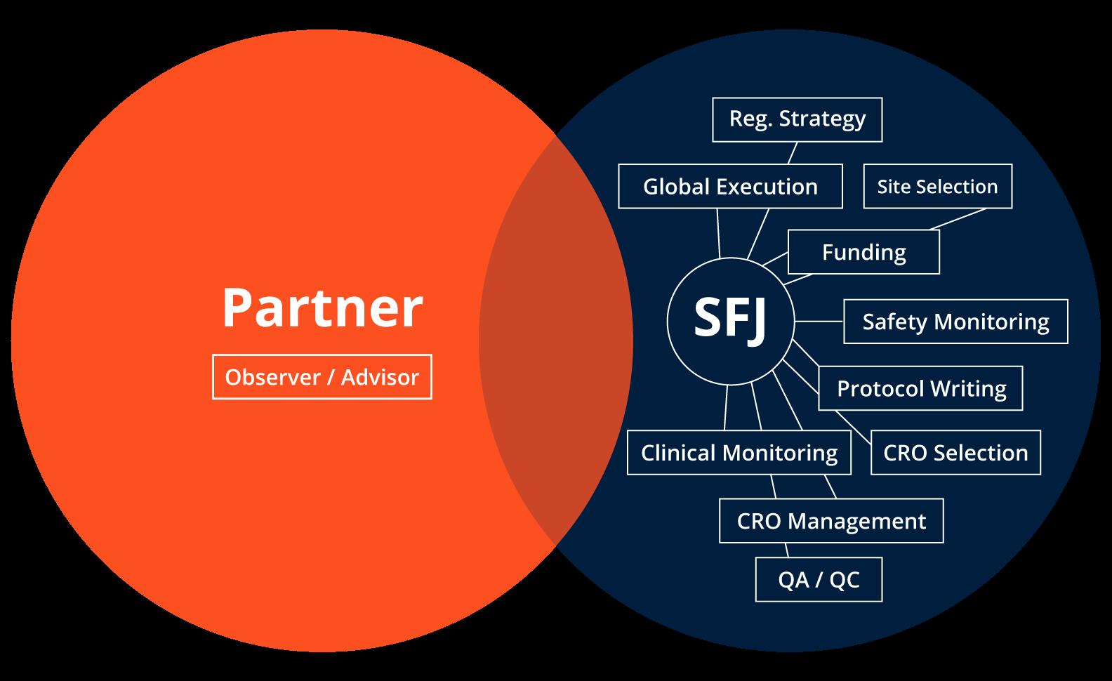 SFJ- Pharmaceuticals alternative approach