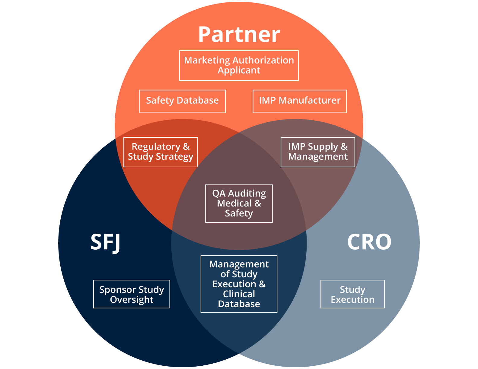 SFJ-Pharmaceuticals typical approach