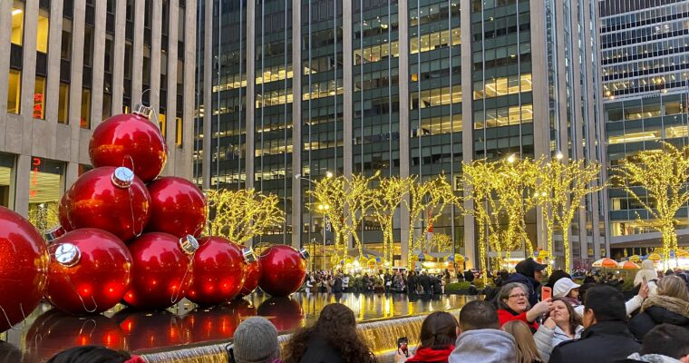 Christmastime in NYC 2019