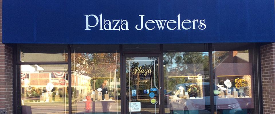 Plaza jewelers storefront