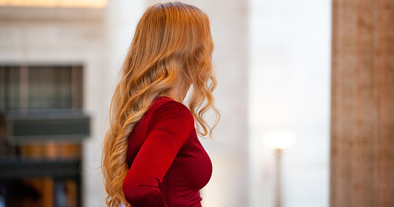 What To Do With Shiny Hair