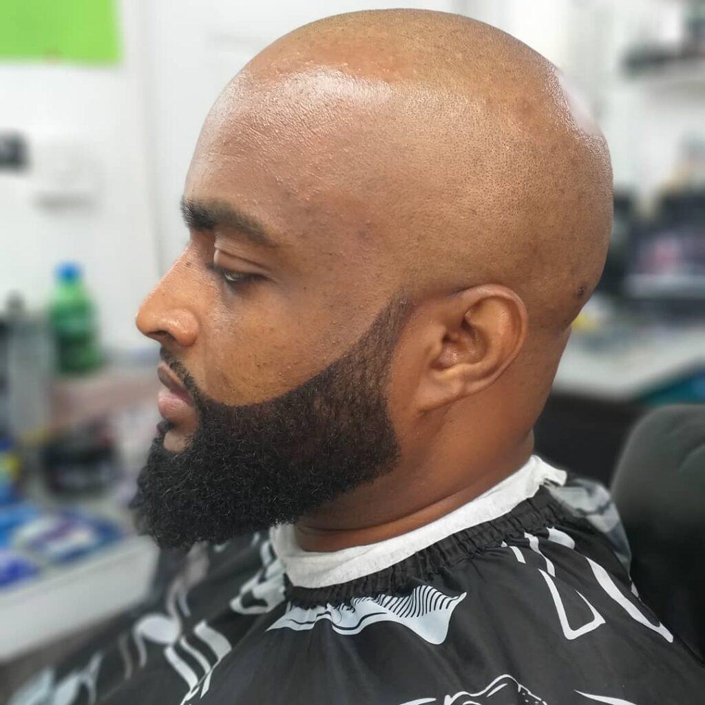 Bald Haircut + Beard