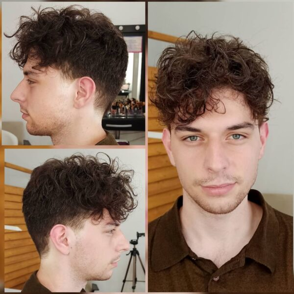 Curly Hair On Top